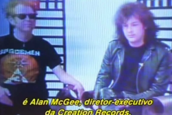 Alan McGee TV Interview 1989