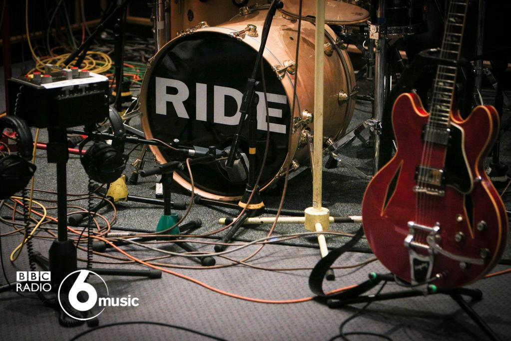 Ride at BBC 6music