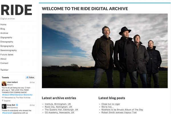 Ride Digital Archive