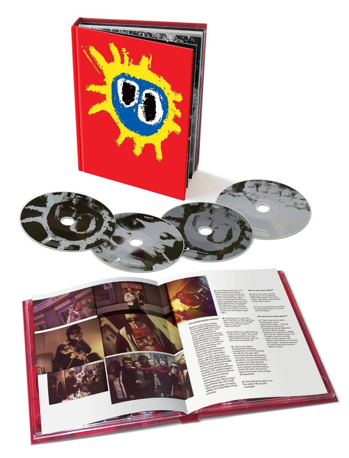 Screamadelica 4CD book set