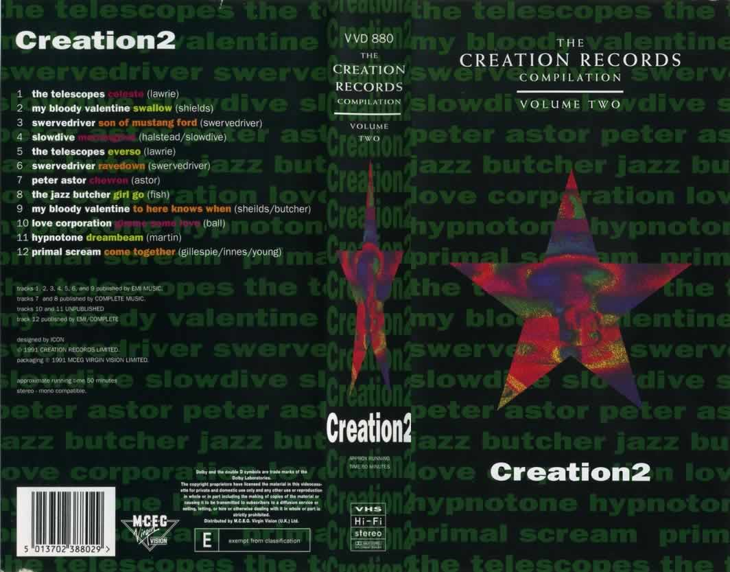 Creation Records compilation video volume 2