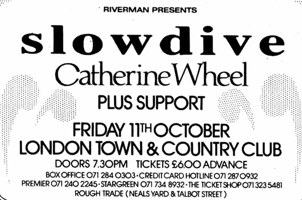 Slowdive - Town & Country Club