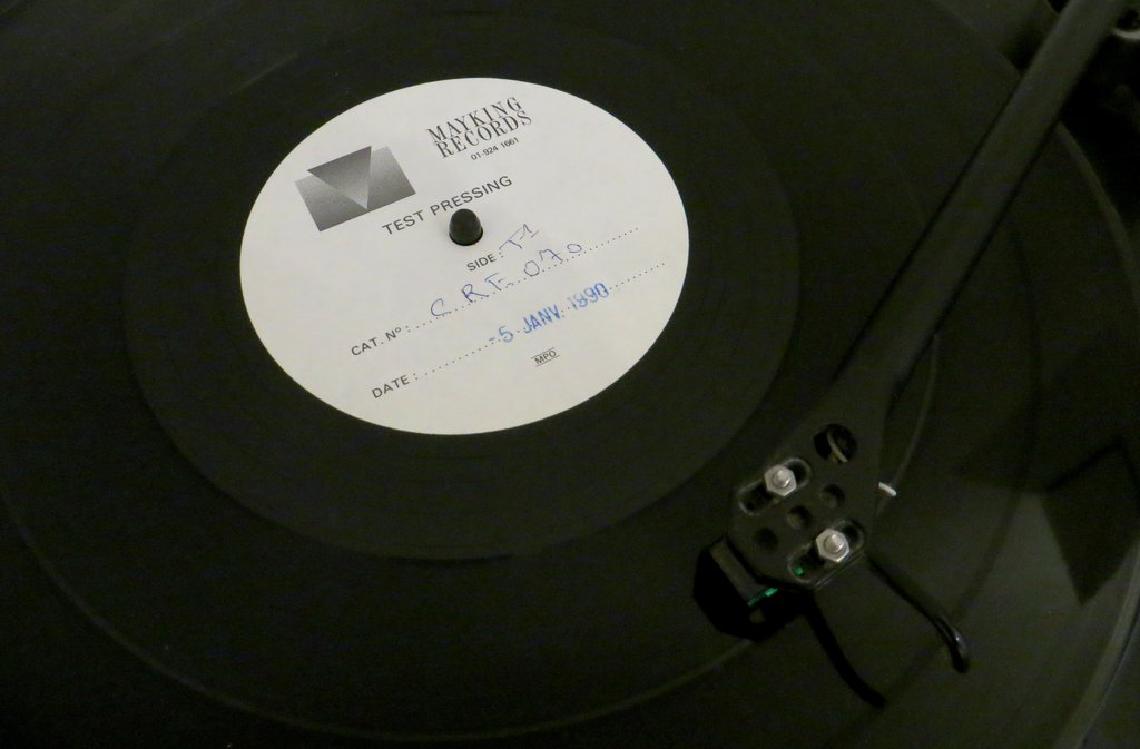 Loaded test pressing