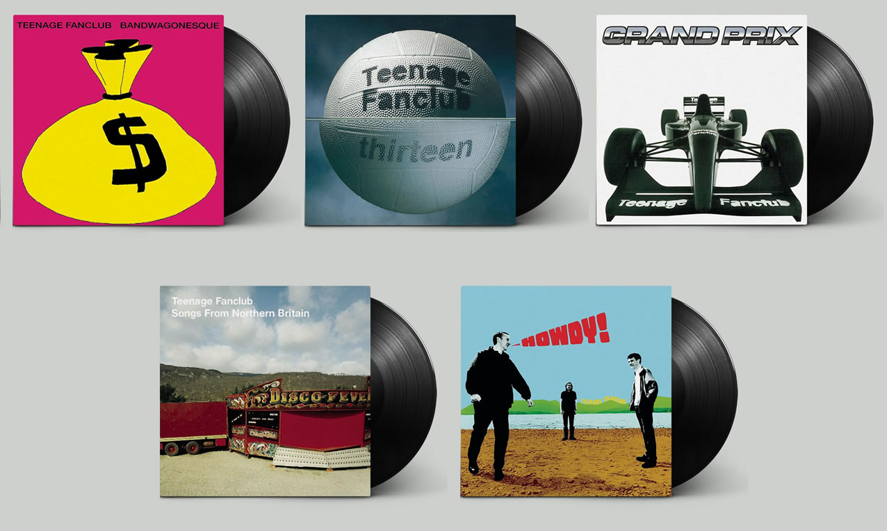 Teenage Fanclub vinyl reissues