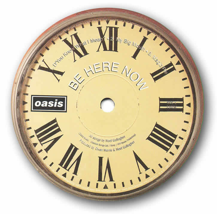 Be Here Now clock