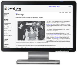 Slowdive Database