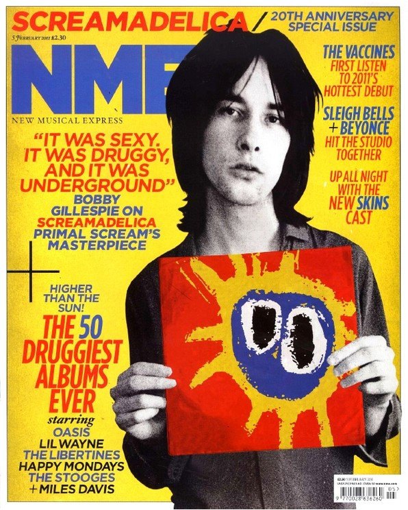 NME Screamadelica Feb 2011