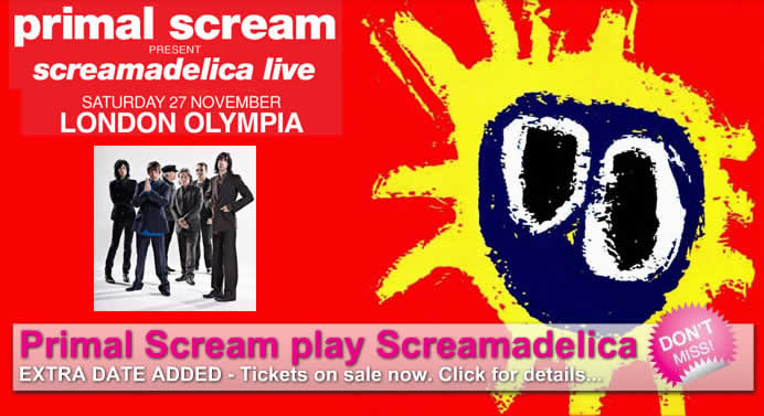 Screamadelica 2nd gig added