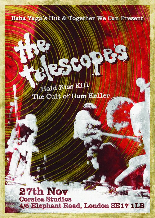 The Telescopes - Nov 2011